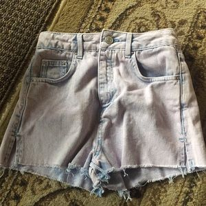 Topshop Authentic Mom High Waisted Shorts (new)
